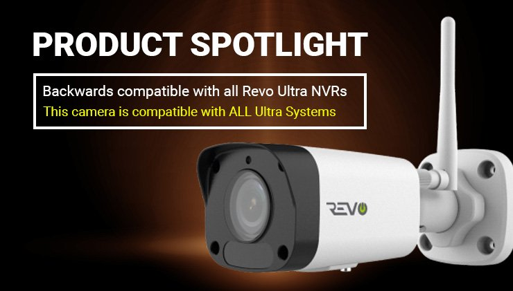 revo ultra wireless camera